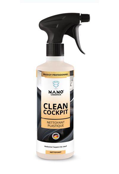 Nettoyant Plastique - Clean Cockpit Spray