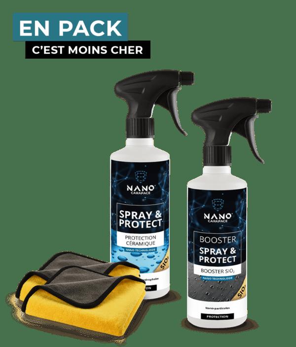 Kit spray céramique véhicule neuf