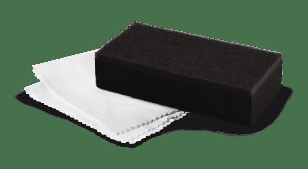 Applicateur et suédine pour protection céramique