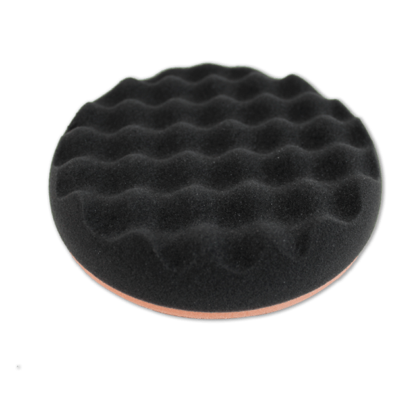 Pad Nano Carapace - FINITION / LUSTRAGE orange & noir
